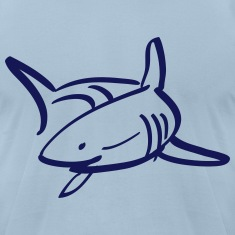 white shark T-Shirts