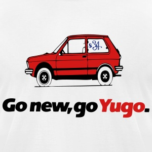 yugo cars T-Shirts - Men's T-Shirt by American Apparel