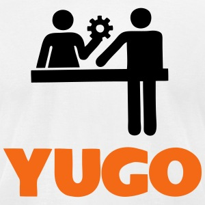 yugo help T-Shirts - Men's T-Shirt by American Apparel