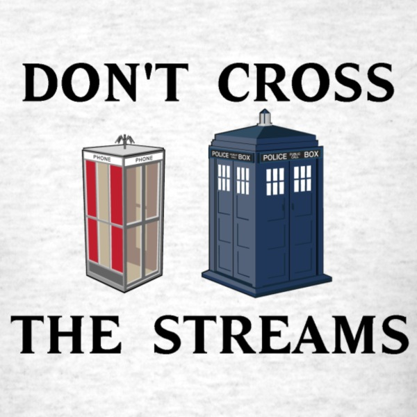 Don't Cross the Streams T-Shirts - Men's T-Shirt