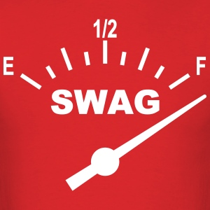 SWAG Gauge Tee_Red - Men's T-Shirt