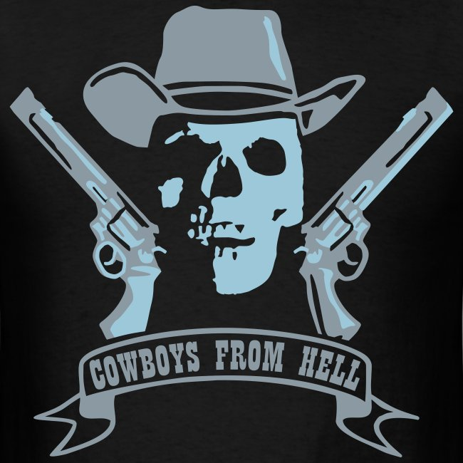 Cowboys From Hell   Men's T-Shirt