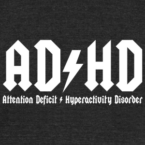 adhd T-Shirts - Unisex Tri-Blend T-Shirt by American Apparel