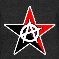 Black & Red Anarchist Star