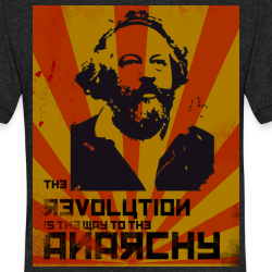 The revolution is the way to the anarchy (Bakunin)
