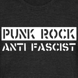 Punk rock antifascist