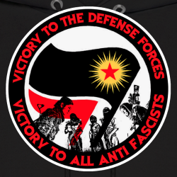 Victory to the defense forces - victory to all anti fascists