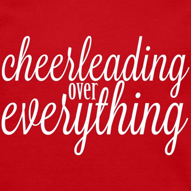 Cheerleading Over Everything crewneck sweatshirt