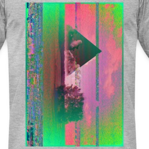 Glitch - Men's T-Shirt by American Apparel