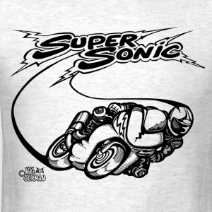Super Sonic Speed Bike.png T-Shirts - Men's T-Shirt