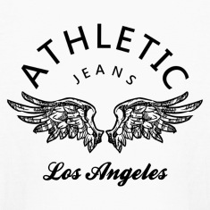 athletic jeans los angeles Kids' Shirts
