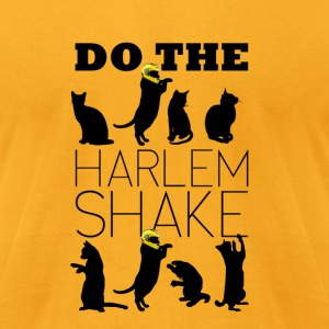 Cats doing the Harlem Shake - Men's T-Shirt by American Apparel