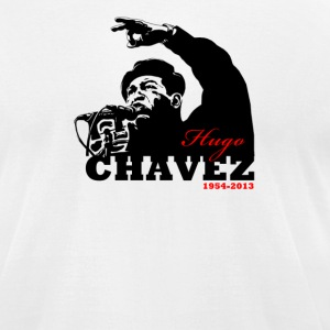Hugo Chavez - Men's T-Shirt by American Apparel