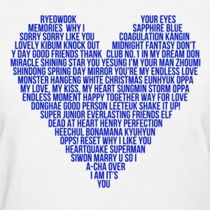 SJ Heart - Women's T-Shirt