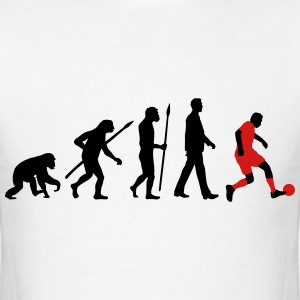evolution of man soccer T-Shirts - Men's T-Shirt