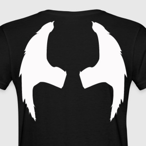 white angel wing shirt - Women's T-Shirt