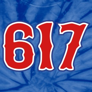 617 Boston, MA Area Code T-Shirts - Unisex Tie Dye T-Shirt