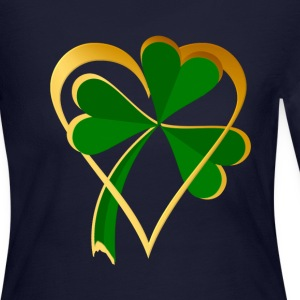 I Love St. Patrick's - Women's Long Sleeve Jersey T-Shirt