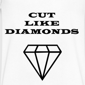 Cut Like Diamonds - Men's V-Neck T-Shirt by Canvas