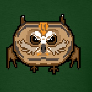 Angry Pixel Owl T-Shirts - Men's T-Shirt