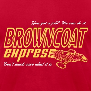 Browncoat Express (Men) - Men's T-Shirt by American Apparel