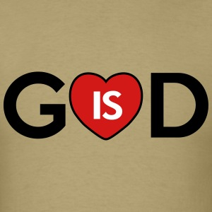 god is love T-Shirts - Men's T-Shirt