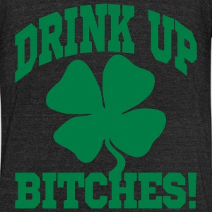 DRINK UP BITHES! T-Shirts - Unisex Tri-Blend T-Shirt by American Apparel