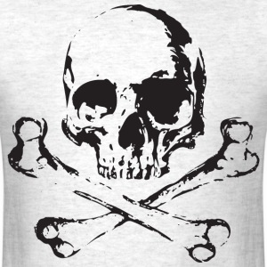 Skull and Bones T-Shirts - Men's T-Shirt