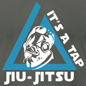 Jiu-Jitsu It's a Tap - Men's T-Shirt by American Apparel
