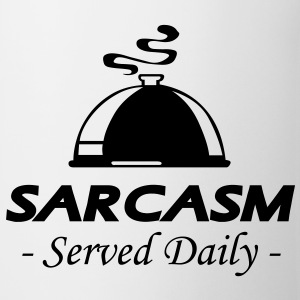 Sarcasm - Served Daily - Coffee/Tea Mug