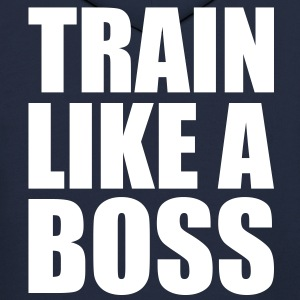 Train like a boss - Men's Hoodie
