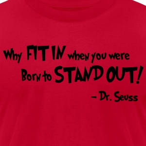 Dr. Seuss Proverb Tee - Men's T-Shirt by American Apparel