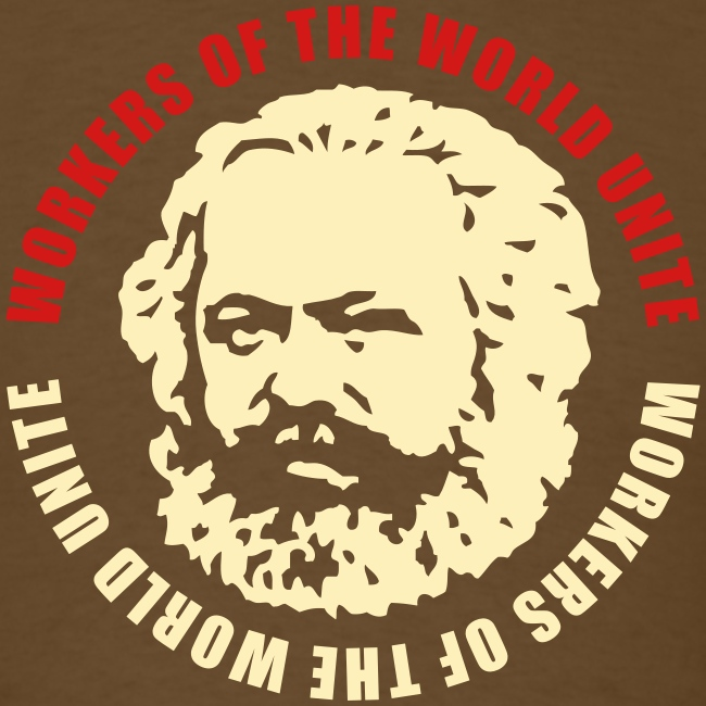 Karl Marx Slogan T-Shirt