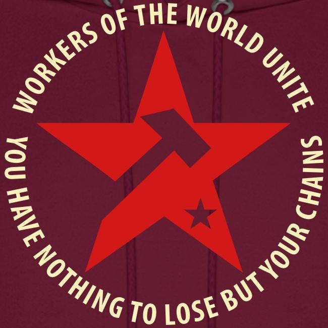 Marxist Star Hoodie