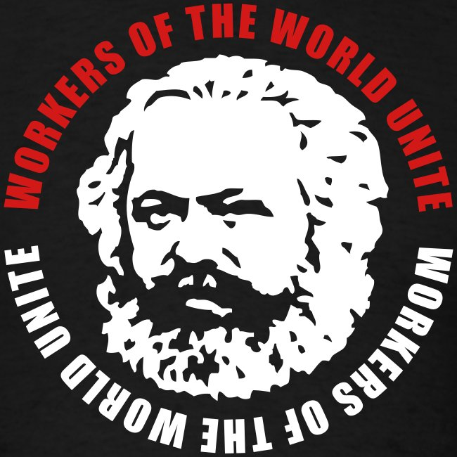 Karl Marx Slogan T-Shirt