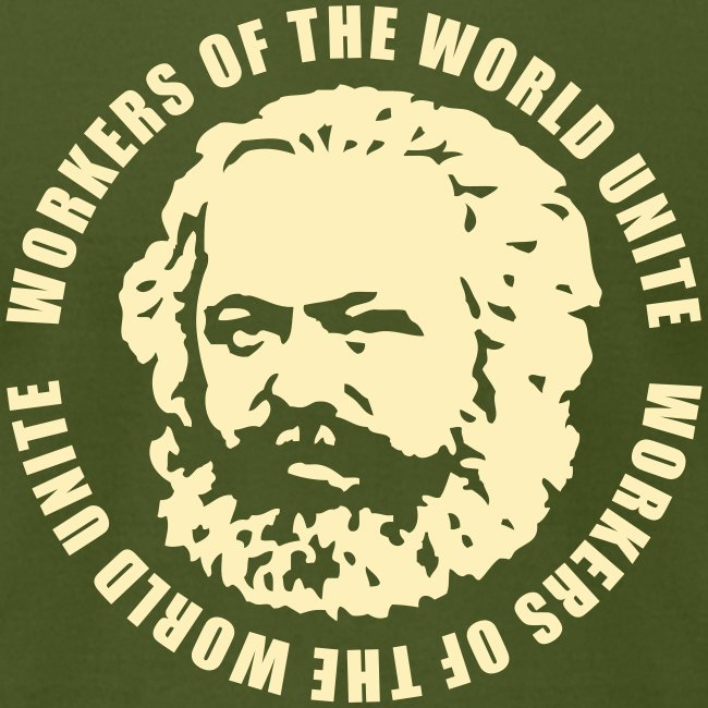 Karl Marx Slogan Jersey Tee