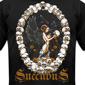 Succubus.png T-Shirts - Men's T-Shirt by American Apparel