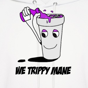 We trippy mane Hoodies - Men's Hoodie