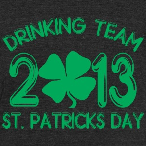 Drinking Team 2*13 T-Shirts - Unisex Tri-Blend T-Shirt by American Apparel