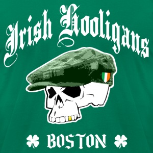 Irish Hooligans Boston - Men's T-Shirt by American Apparel