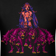 Design ~ Wolf Queen - Men shirt