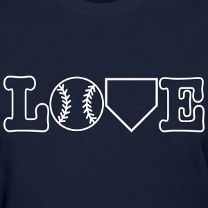 Baseball Love Women's T-Shirts - Women's T-Shirt