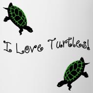 Design ~ I Love Turtles Mug