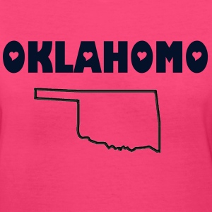 OKLAHOMO - Women's V-Neck T-Shirt