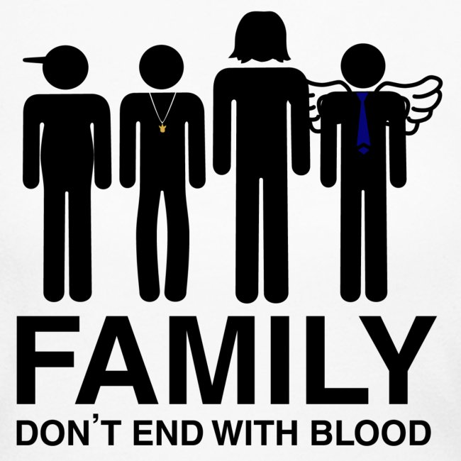 Non Timebo Mala Supernatural Family Dont End With Blood Womens