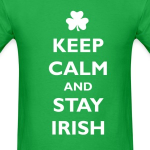 Keep calm and stay irish T-Shirts - Men's T-Shirt