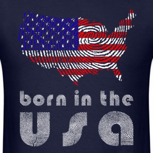 born in the usa  T-Shirts - Men's T-Shirt