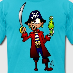 Pirate T-Shirts - Men's T-Shirt by American Apparel