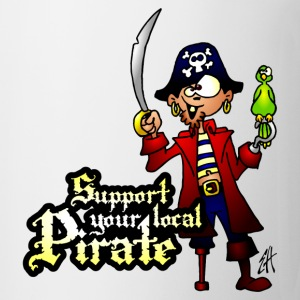 Support your local Pirate Bottles & Mugs - Coffee/Tea Mug