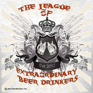 The League of Extraordinary Beer Drinkers Crest Me - Men's T-Shirt